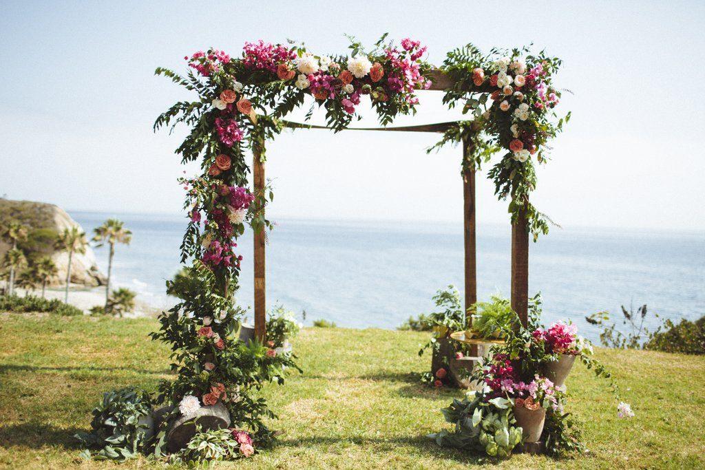 Wink weddings, boho beachside wedding, the lighter side, Rad + In Love