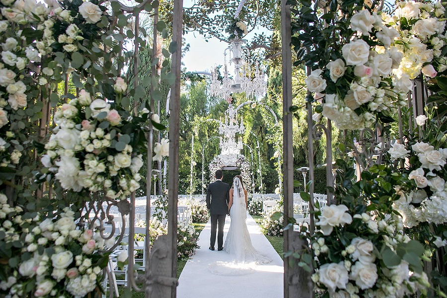 The Lighter Side, Beverly Hills Hotel, International Event Company, Mark's Garden, Jessica Claire
