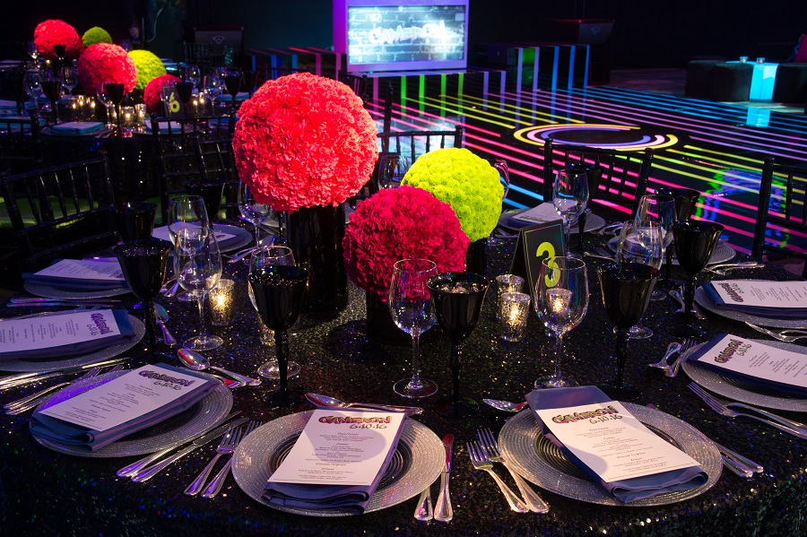 The Lighter Side, Four Seasons Beverly Hills, bar mitzvah, bat mitzvah, JOWY Productions, John Solano Photography, neon bar mitzvah
