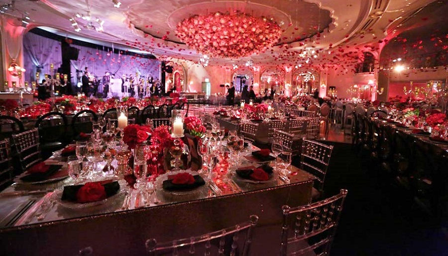 The Lighter Side, Red Bar Mitzvah, bar mitzvah, bat mitzvah, Beverly Hills Hotel, International Event Company, Mark's Garden, Behzad Bekrad
