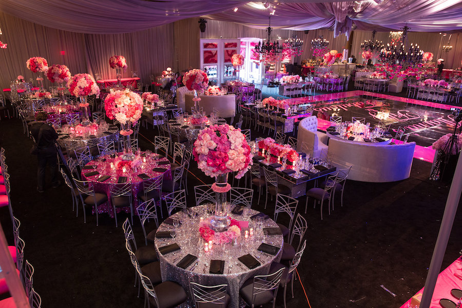 birthday celebration, Social Events, Event Lighting, National Orange Show Events Center, International Event Company. 80z Allstars, DJ Jon B, Dahl Photographers, Vidicam Productions, Mark's Garden, The Lighter Side, Edge Design Décor, Classic Party Rentals, RB Dancefloors, La Tavola Linens, Joanie and Leigh's Cakes, John Solano Photography