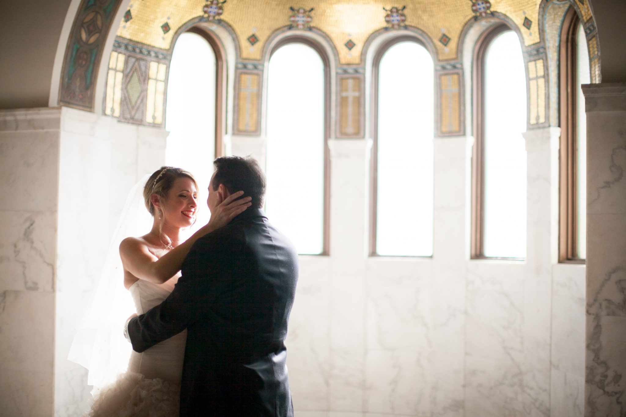 Kim & Mike Wedding at the Vibiana
