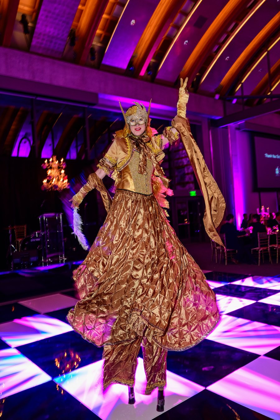 Los Angeles Ronald McDonald Charities of Southern California, Nicole Hirsty, Cobalt Events, Joshua Bobrov, The Lighter Side LA, WOVA, World of Video and Audio, Chef Jamie Gwen, Skirball Cultural Center, Palace Party Rental, Debois Entertainment, DJ Viscious Lee, Bling Divas Entertainment
