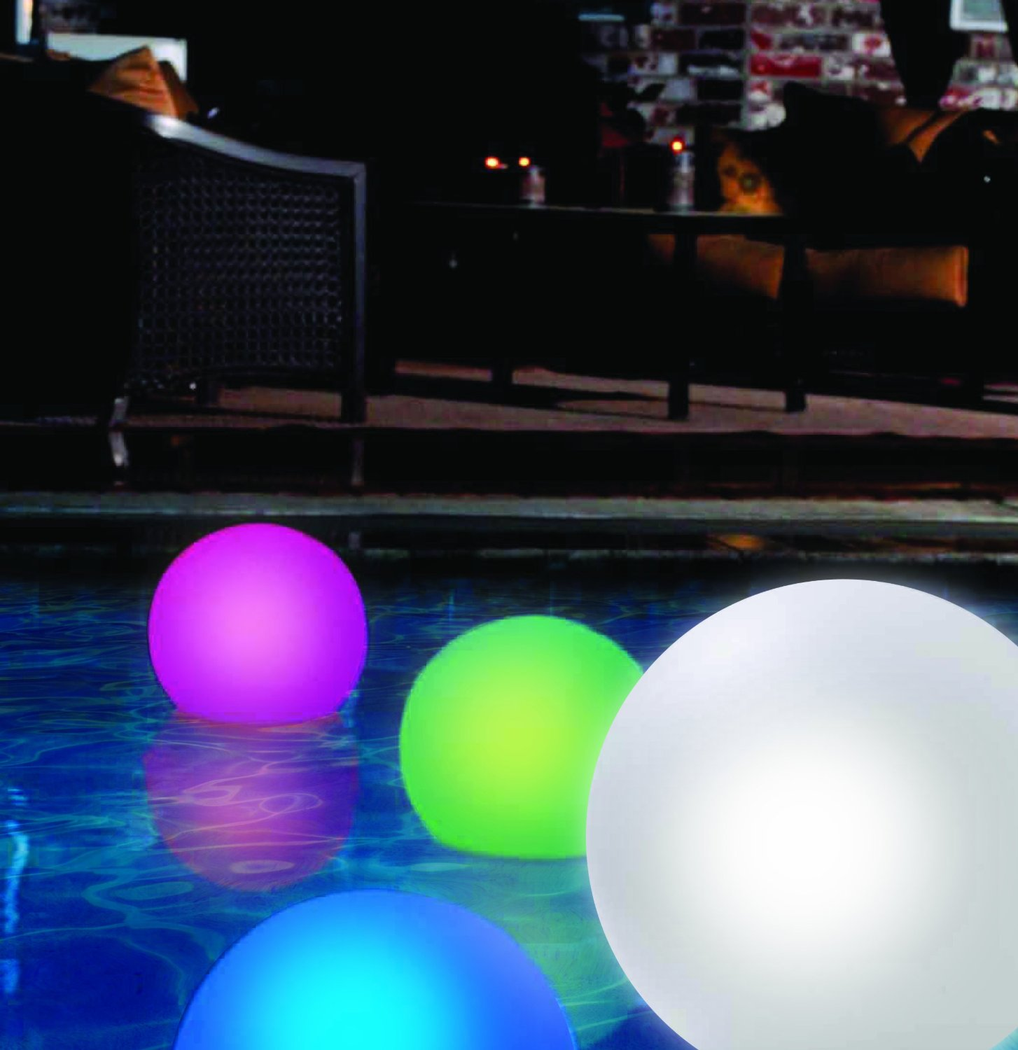 Floating Color Changing Led Globe The Lighter Side