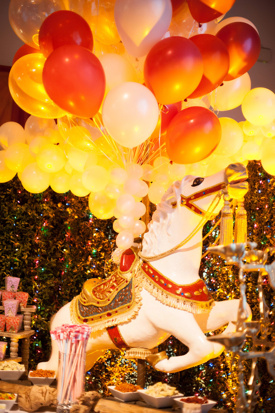 Circus Theme Bat Mitzvah Featured on Special Events Magazine