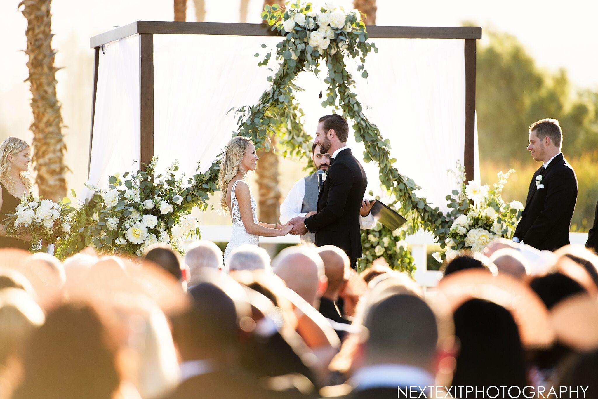 Alex & Jon: Golden Wedding at the Merv Griffin Ranch Estate