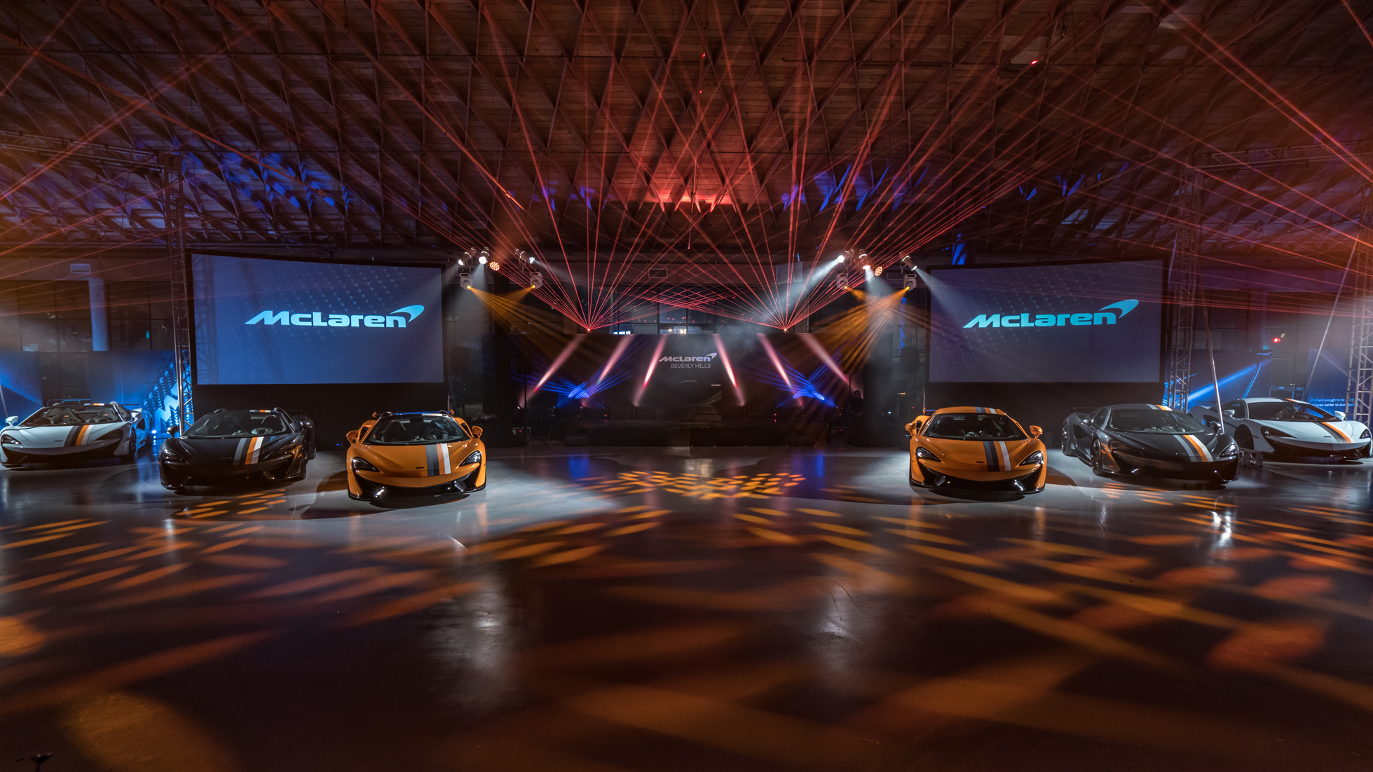 McLaren Beverly Hills and McLaren Automotive Celebrate Bespoke 'Racing Through the Ages' Collection by MSO