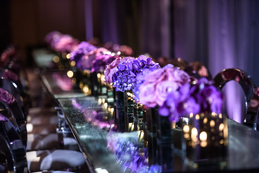 Purple Mitzvah Celebration at the Beverly Hilton