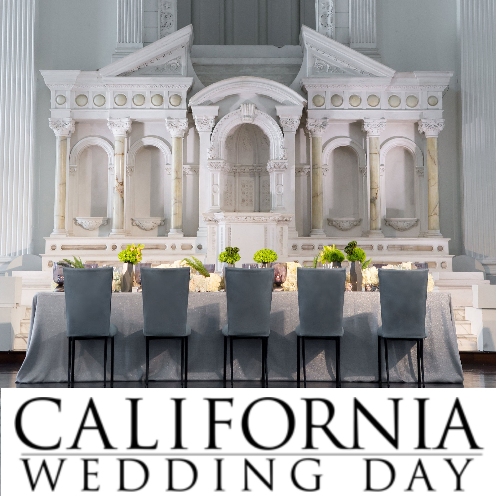 California Wedding Day Features The Lighter Side in Vibiana Styled Shoot