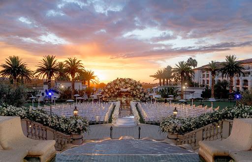 Phillip + Paulina's Electric Outdoor Wedding Lights Up Monarch Beach Resort