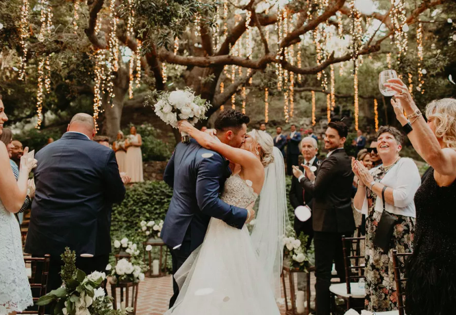 Baker Mayfield and Emily Wilkinson's Wedding Featured on Brides Magazine!